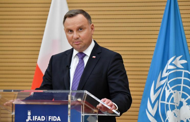 """Президент Польши поддержит Украину на саммитах НАТО и """"Бухарестской девятки"""""""