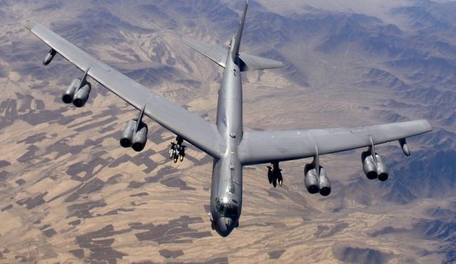 В-52Н над Афганистаном: число американских бомбардировщиков увеличилось до шести