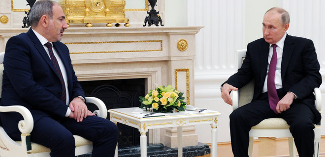 Пашинян обратился за военной помощью к Путину