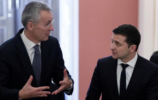 Зеленский озвучил Столтенбергу свои ожидания от саммита НАТО