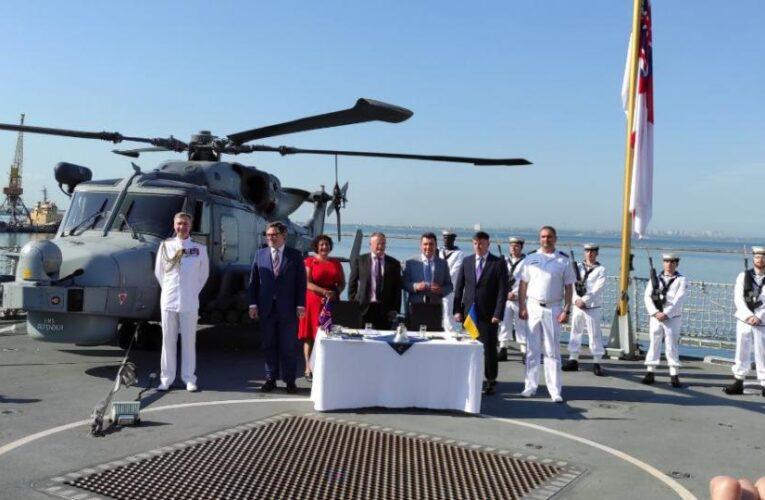 Украина и Великобритания будут строить военные корабли
