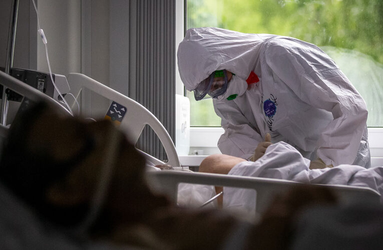 Украина остается в лидерах по смертности от коронавируса в Европе