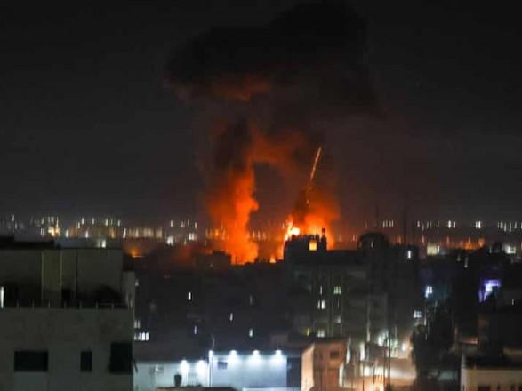 Израиль снова начал воздушные удары по сектору Газа