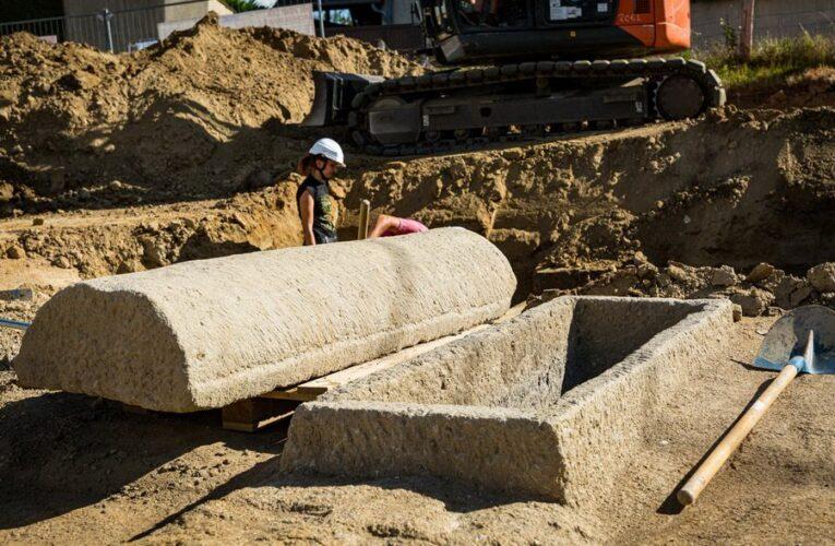 Археологи обнаружили во Франции некрополь с богатыми бургундскими захоронениями