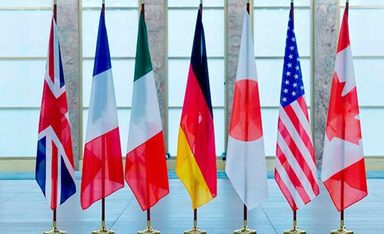 G7 призвала Россию убрать войска с восточной границы Украины