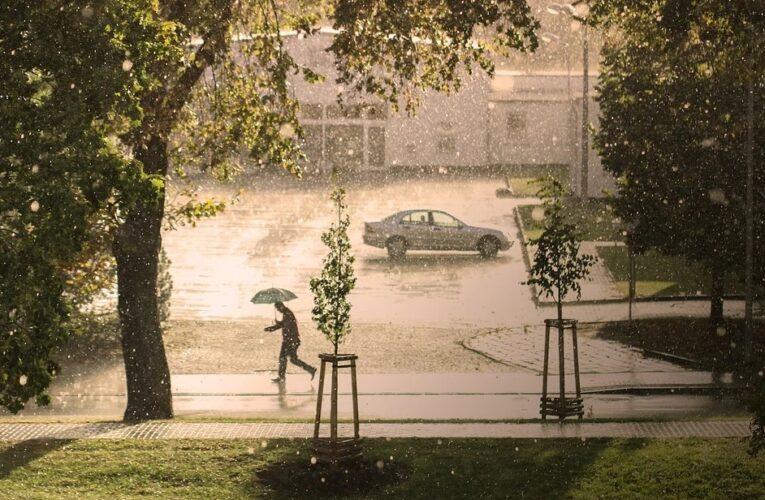 На Украину надвигается циклон, который принесет дожди
