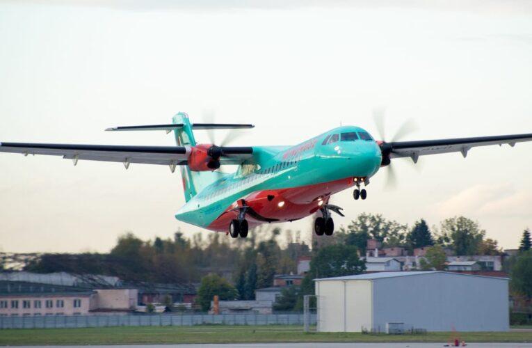 Авіакомпанія WINDROSE відзначає рік польотів у небі України