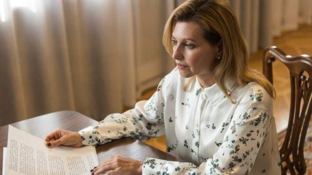 Елена Зеленская хочет создать Офис первой леди Украины