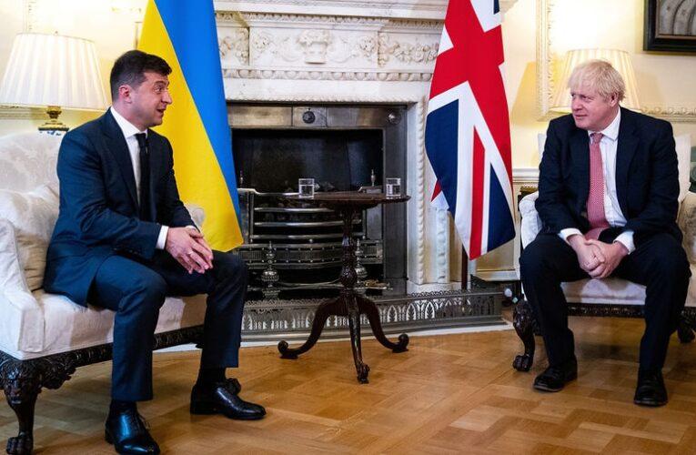 Зеленский провел переговоры с Борисом Джонсоном