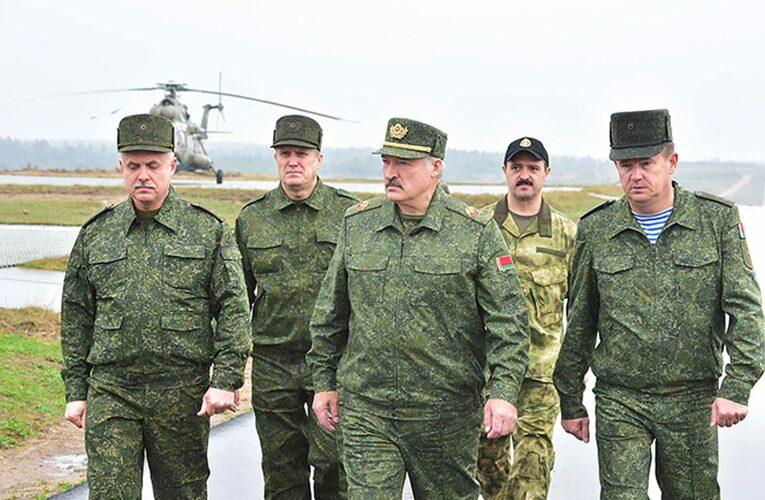 Лукашенко решил готовится к войне