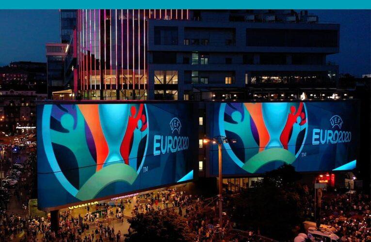 Киевским болельщикам установили самые большие экраны в Европе для просмотра финала Евро-2020