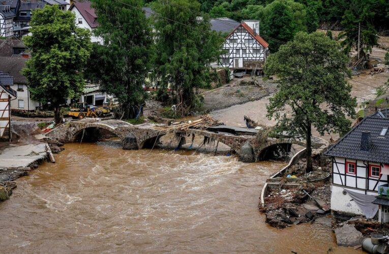Меркель сообщила о шокирующих последствиях наводнения в Германии