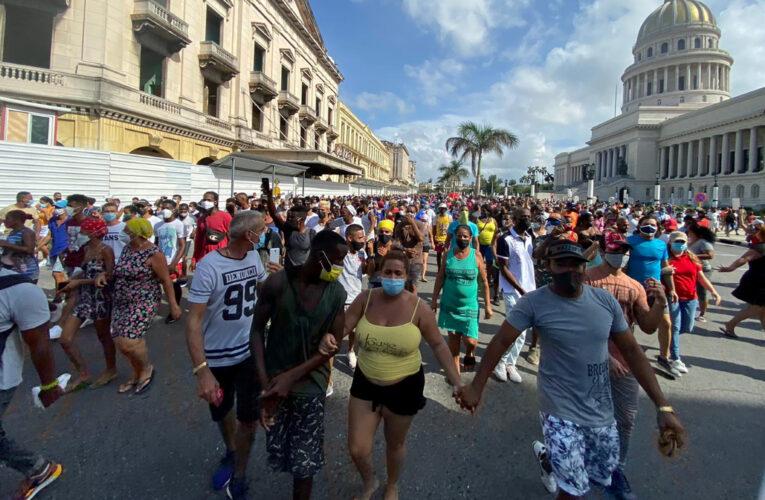 Более пятисот кубинцев пропали после антиправительственных протестов