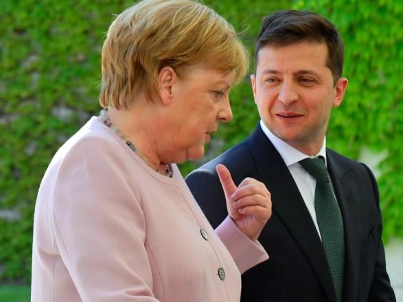 Что обсудят Зеленский и Меркель во время встречи в Берлине