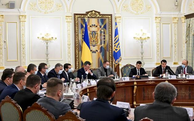 Зеленский обновил состав военного кабинета СНБО