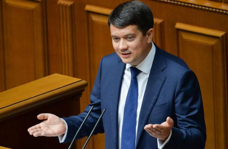 Разумков пообещал «жаркий» политический сезон