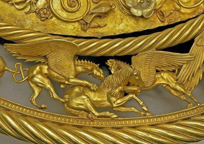 За хранение «Скифского золота» Украине придется заплатить 122 тысячи евро