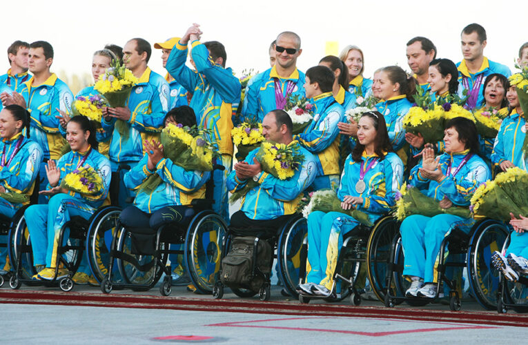 Украинские спортсмены триумфально закончили Паралимпиаду
