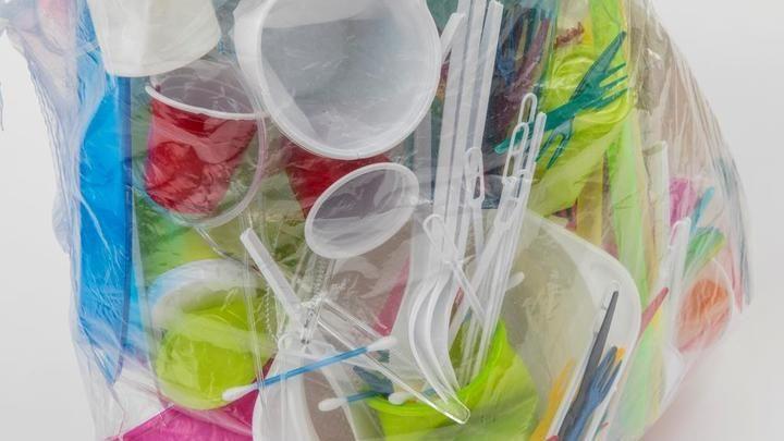 Украинцев оставят без пластиковых пакетов и посуды
