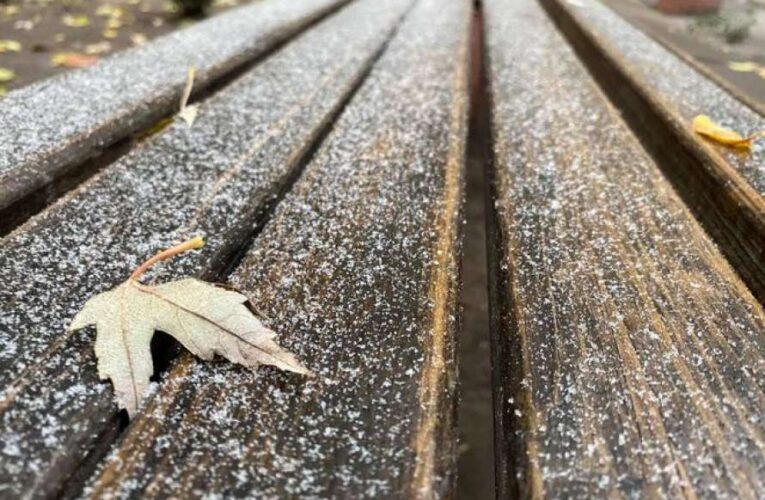 В Украину идут холода и снег с дождем