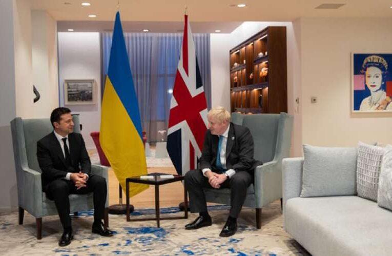 Украина ждет в гости Бориса Джонсона