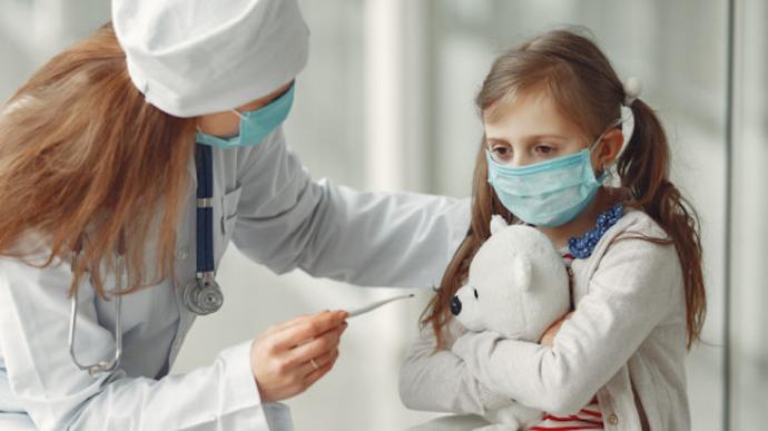 В Украине растет детская заболеваемость коронавирусом