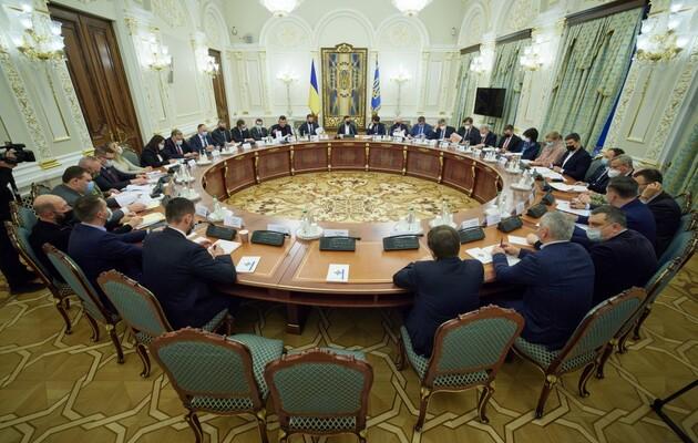 Зеленский изменил Положение о Военном кабинете СНБО