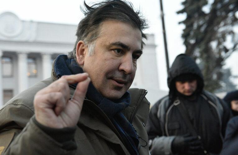 Саакашвили сообщил, когда прекратит голодовку