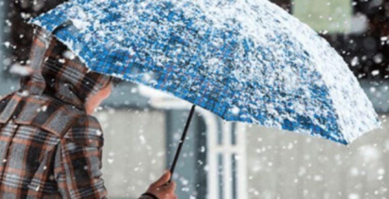 В Украину идут дожди и мокрый снег