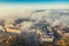 В Киеве зафиксирован самый высокий в мире показатель загрязнения воздуха