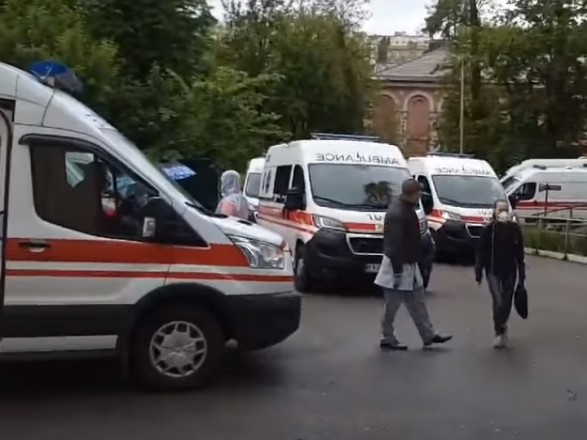 В больницах Киева почти не осталось мест для больных коронавирусом