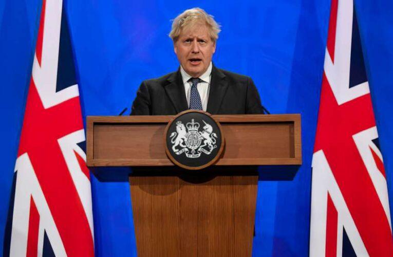 Джонсон обсудил с Путиным вооруженный конфликт на востоке Украине