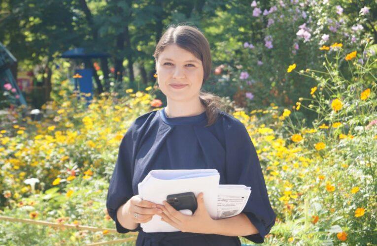 Лидер партии «Национальная платформа» Екатерина Одарченко ведет активный диалог с жителями Херсонщины о главном (Фото,Видео)